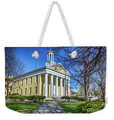 Newburgh Courthouse On Grand Street 1 Weekender Tote Bag