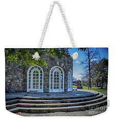 Newburgh Downing Park Shelter House Side View Weekender Tote Bag