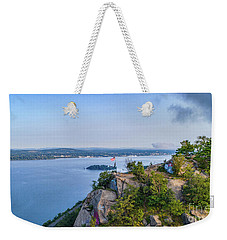 Newburgh From Breakneck Ridge Weekender Tote Bag