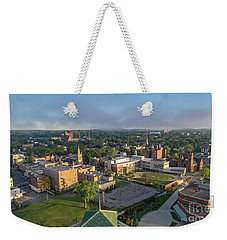 Newburgh New York At Sunrise Weekender Tote Bag