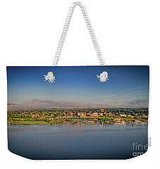 Newburgh, Ny From The Hudson River Weekender Tote Bag