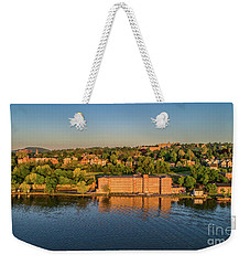 Newburgh Waterfront At Sunrise 2 Weekender Tote Bag