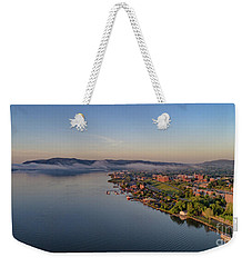 Newburgh Waterfront At Sunrise Weekender Tote Bag