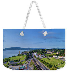 Newburgh Waterfront Looking South 4 Weekender Tote Bag