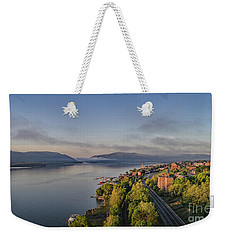 Newburgh Waterfront Looking South Weekender Tote Bag