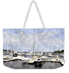 Newburyport Harbor Nhwc Weekender Tote Bag