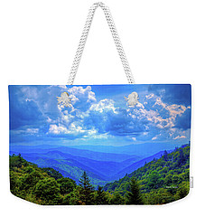 Newfound Gap Weekender Tote Bag by Dale R Carlson