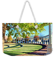 Weekender Tote Bag featuring the photograph Newnan Park Ampitheatre by Roberta Byram