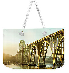 Newport Bridge Weekender Tote Bag