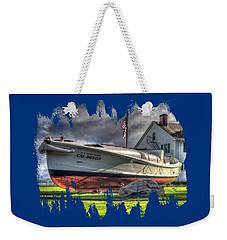 Newport Coast Guard Station Weekender Tote Bag