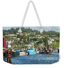 Newport Harbor Weekender Tote Bag by James Eddy