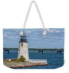 Newport Harbor Lighthouse Weekender Tote Bag