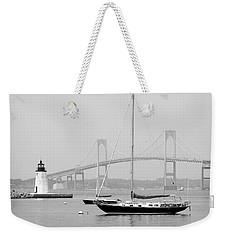 Newport, Rhode Island Serene Harbor Scene Weekender Tote Bag
