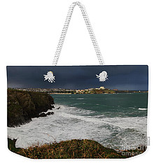 Newquay Squalls On Horizon Weekender Tote Bag