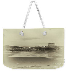 Newquay With Old Watercolor Effect  Weekender Tote Bag