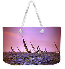 Next Stop Nantucket Weekender Tote Bag