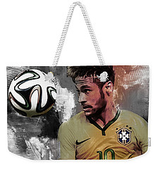 Neymar 051a Weekender Tote Bag by Gull G