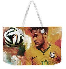 Neymar 05d Weekender Tote Bag by Gull G