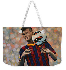 Neymar Weekender Tote Bag by Paul Meijering