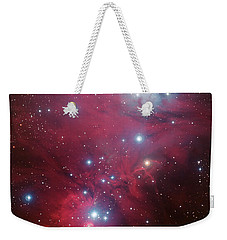 Weekender Tote Bag featuring the photograph Ngc 2264 And The Christmas Tree Star Cluster by Eso