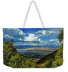 Ngorongoro Crater Weekender Tote Bag