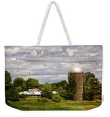 Nh Farm Scene - Weathered To Perfection Weekender Tote Bag