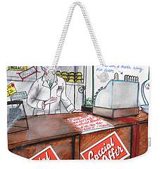 NHS Weekender Tote Bag