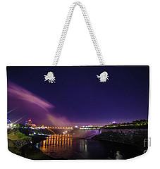 Niagara Falls American Falls  Weekender Tote Bag