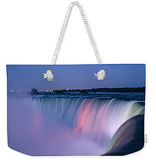 Niagara Falls At Dusk Weekender Tote Bag