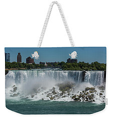 Niagara Falls, New York Weekender Tote Bag by Brenda Jacobs