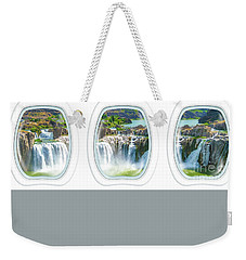 Niagara Falls Porthole Windows Weekender Tote Bag