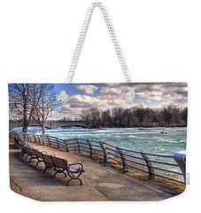Niagara Rapids In Early Spring Weekender Tote Bag