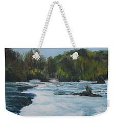 Niagra Rapids Weekender Tote Bag