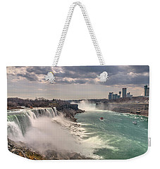Niagra Waterfalls Weekender Tote Bag