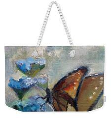 Nibbling Nectar Weekender Tote Bag