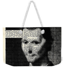 Niccolo  Machiavelli Weekender Tote Bag