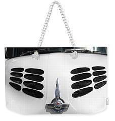 Weekender Tote Bag featuring the photograph Nice Grills by Stephen Mitchell