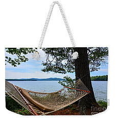 Nice Spot For A Nap Weekender Tote Bag by Mim White