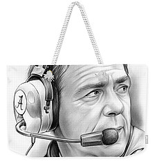 Nick Saban Weekender Tote Bag