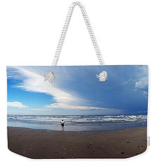 Nicki At Port Aransas Weekender Tote Bag