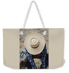 Nick's Hat Style Weekender Tote Bag