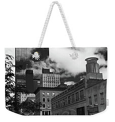 Nicollet Mall Minneapolis Black White Weekender Tote Bag