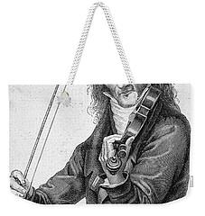 Nicolo Paganini Weekender Tote Bag