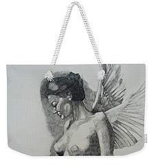 Night Angel Weekender Tote Bag by Ray Agius