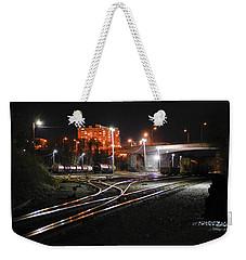 Night At The Railyard Weekender Tote Bag