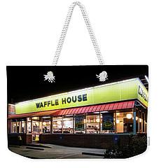 Night At Waffle House Weekender Tote Bag