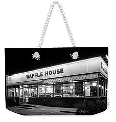 Night At Waffle House In Black And White Weekender Tote Bag
