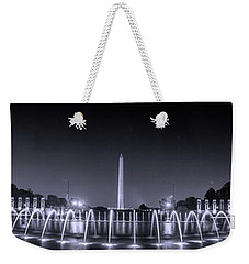 Night At Washington Dc Weekender Tote Bag by Rima Biswas