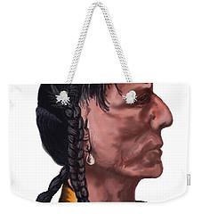 Night Bear Weekender Tote Bag