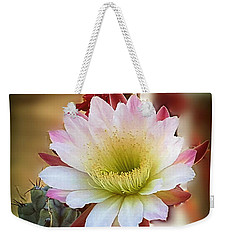 Weekender Tote Bag featuring the photograph Night-blooming Cereus 2 by Marilyn Smith